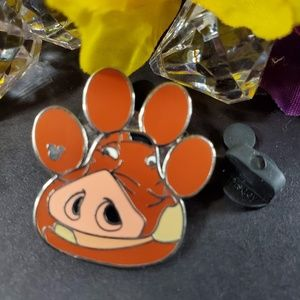 4/$25 Disney Lion King Puma Foot Print Pin